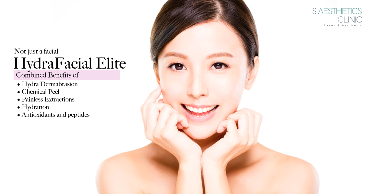 HydraFacial Singapore - What You Need To Know - S Aesthetics