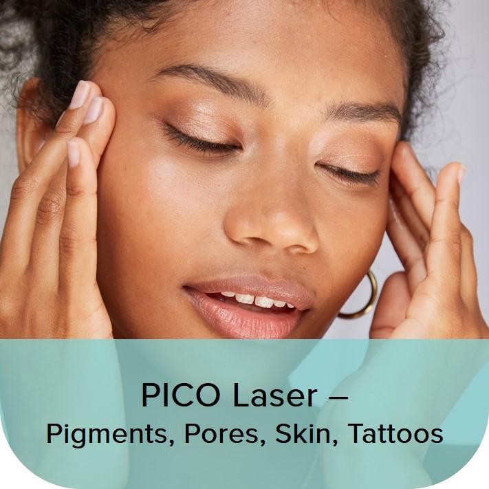 pico laser - pigments, pores, skin, tattoos SAC